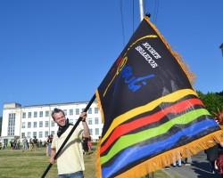 Voxi uhke lipu esmaesitlus Eesti teisel Punklaulupeol (2011. a)